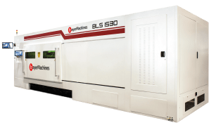 "Bayer Machines BLS 1530 - Compact ""All in One"" Fiber Laser Cutting System"