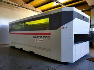 Bayer Machines - Delivery to Fitting Montage - Laser Cutting System