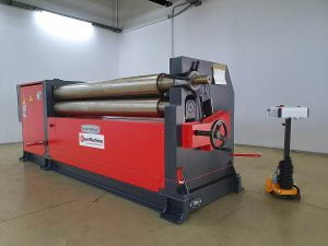 Bayer Machines - Delivery to Fitting Montage - Plate Roll