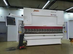 Bayer Machines - Delivery to Fitting Montage - Press Brake