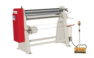 Bayer Machines AS - Mechanical 3-Rolls Plate Bending Machine